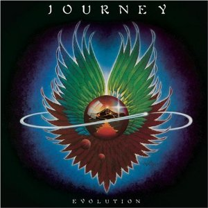 "Journey's ""Evolution"" Album Cover"
