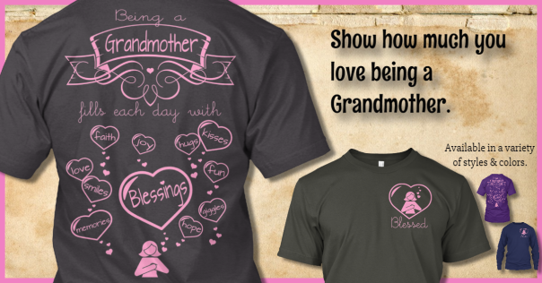 tshirt for grandmothers gift from grandchildren