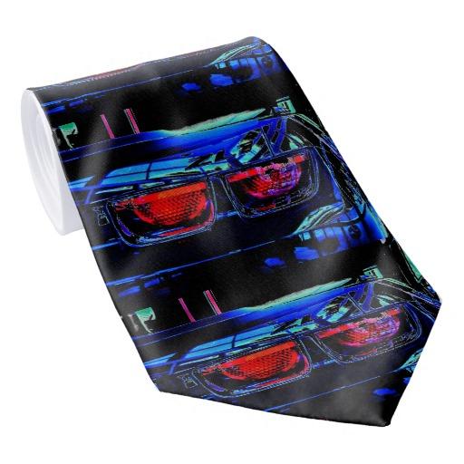 Black Chevrolet ZL1 tail lights